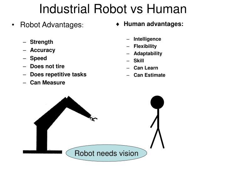 Industrial Robot vs Human