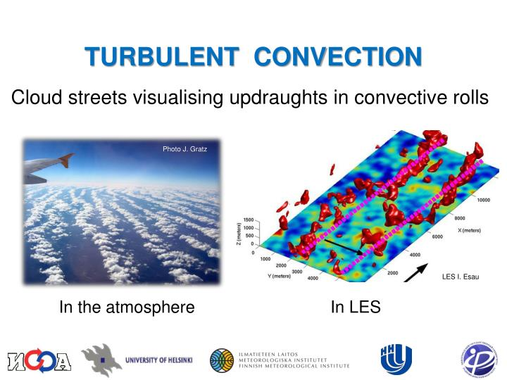 Cloud streets visualising updraughts in convective rolls