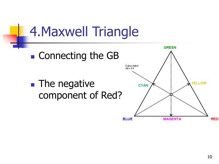 4.Maxwell Triangle