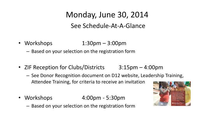 Monday, June 30, 2014