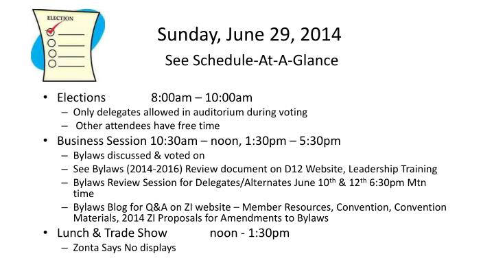 Sunday, June 29, 2014