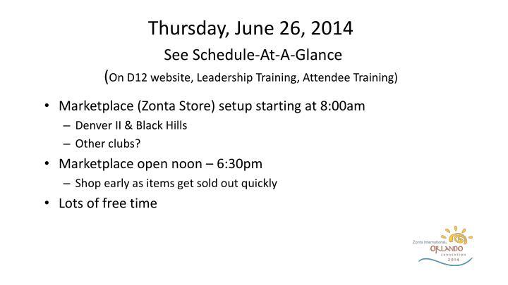Thursday, June 26, 2014