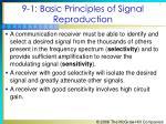 9 1 basic principles of signal reproduction1