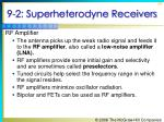 9 2 superheterodyne receivers2