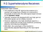 9 2 superheterodyne receivers7