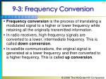 9 3 frequency conversion