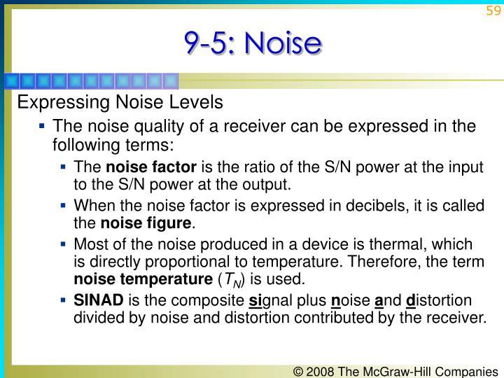9-5: Noise