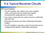 9 6 typical receiver circuits1