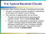 9 6 typical receiver circuits8