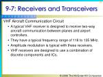 9 7 receivers and transceivers