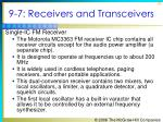9 7 receivers and transceivers2