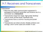 9 7 receivers and transceivers4