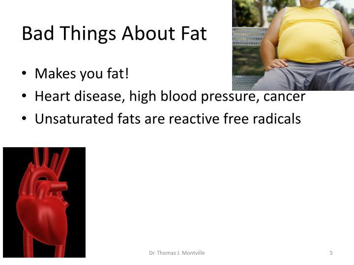 Bad Things About Fat
