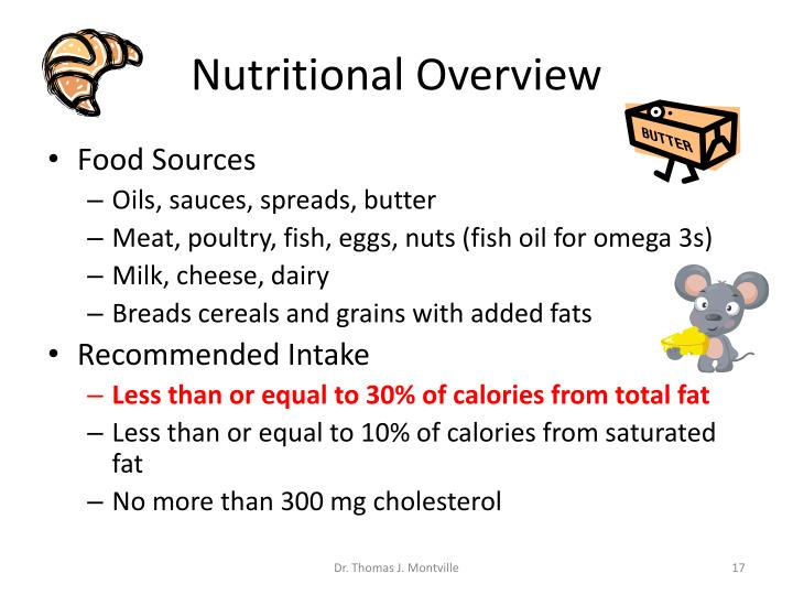 Nutritional Overview