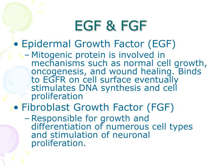 EGF & FGF