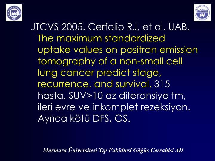 JTCVS 2005