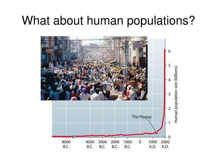 What about human populations?