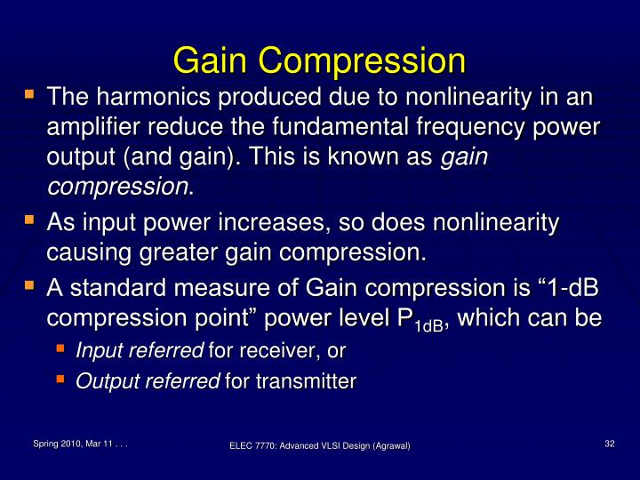 Gain Compression