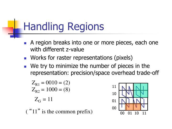 Handling Regions