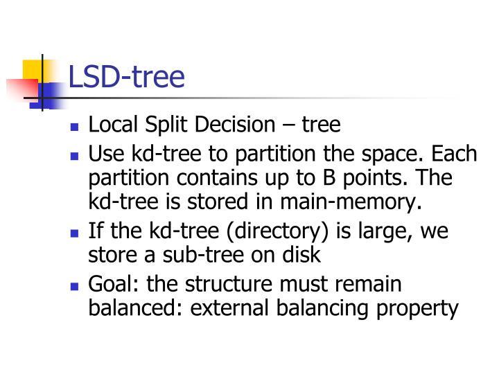 LSD-tree