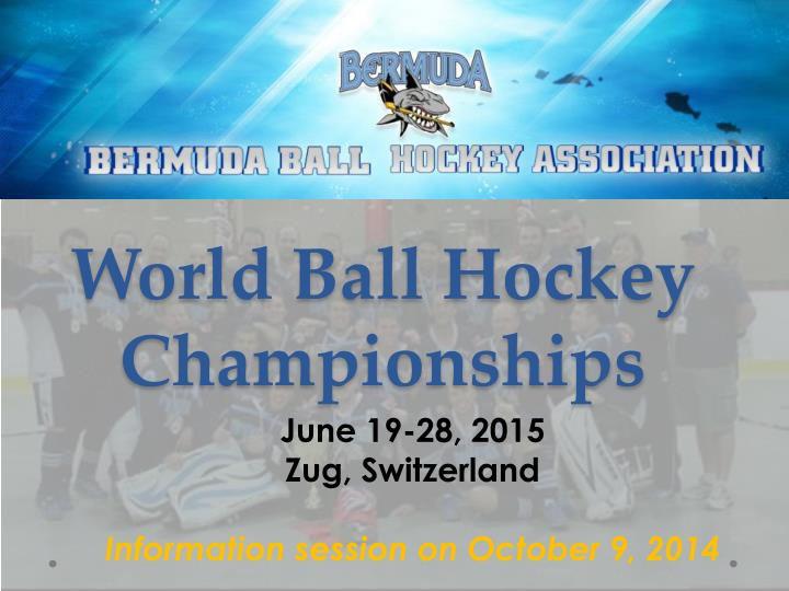 world ball hockey championships