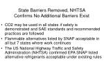 state barriers removed nhtsa confirms no additional barriers exist