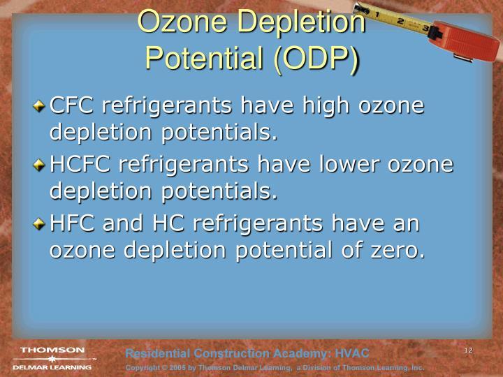 Ozone Depletion Potential (ODP)