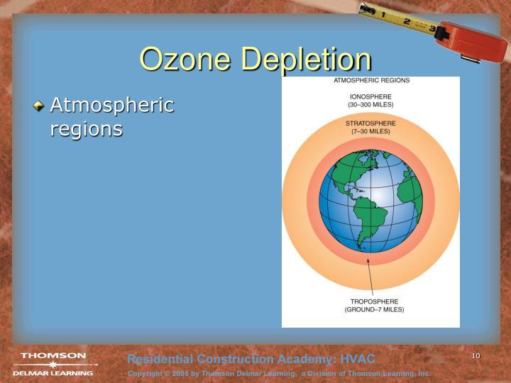 Atmospheric regions