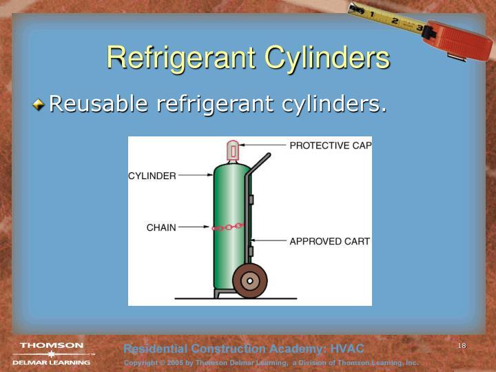 Refrigerant Cylinders