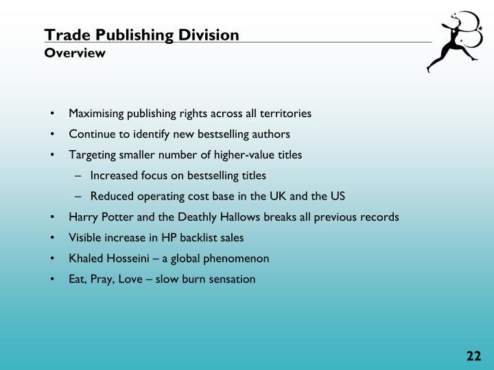 Trade Publishing Division