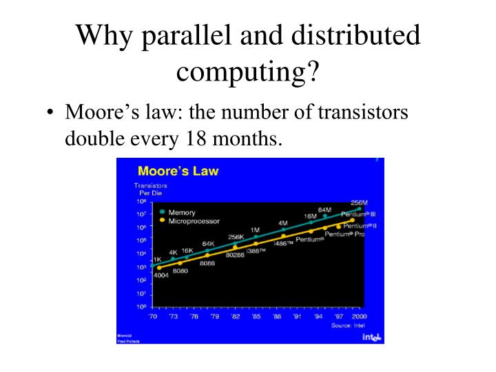 Why parallel and distributed computing?