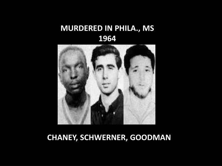 MURDERED IN PHILA., MS