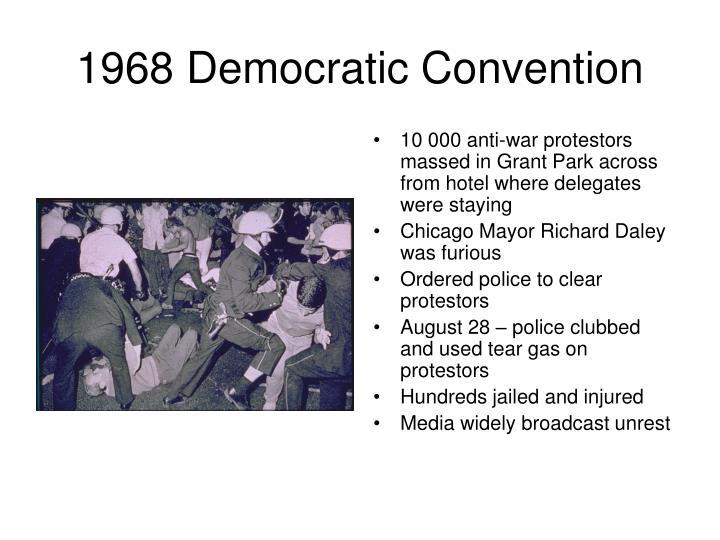 1968 Democratic Convention