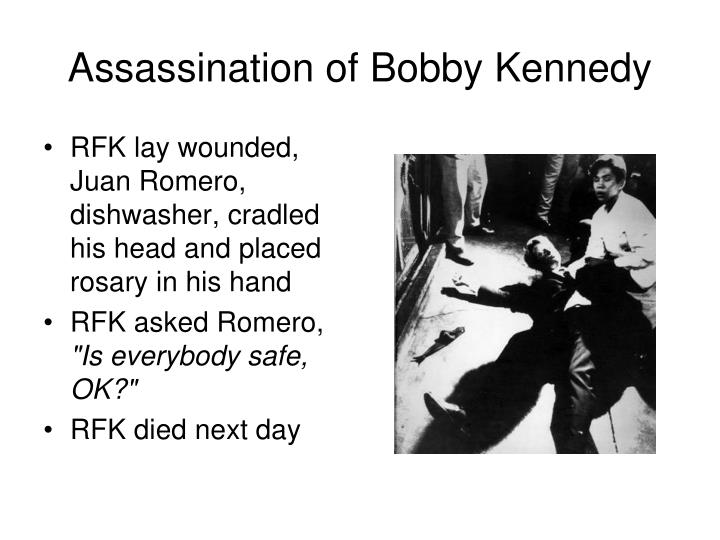 Assassination of Bobby Kennedy