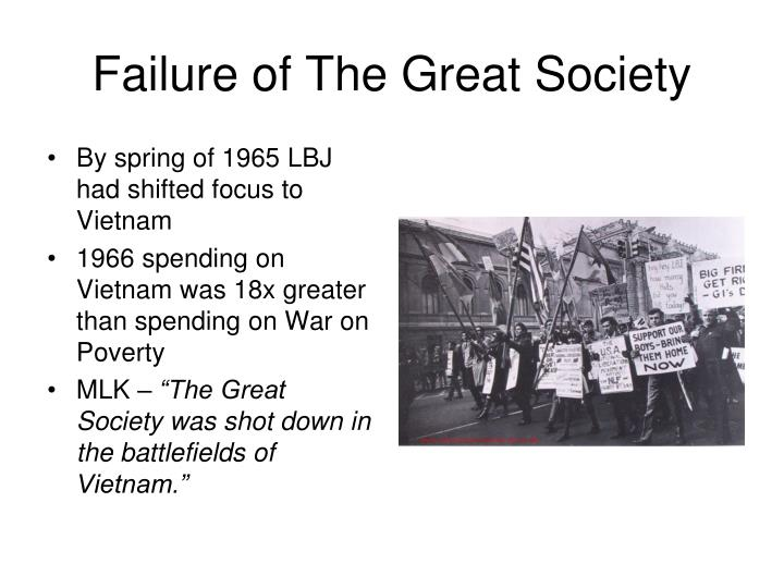 Failure of The Great Society