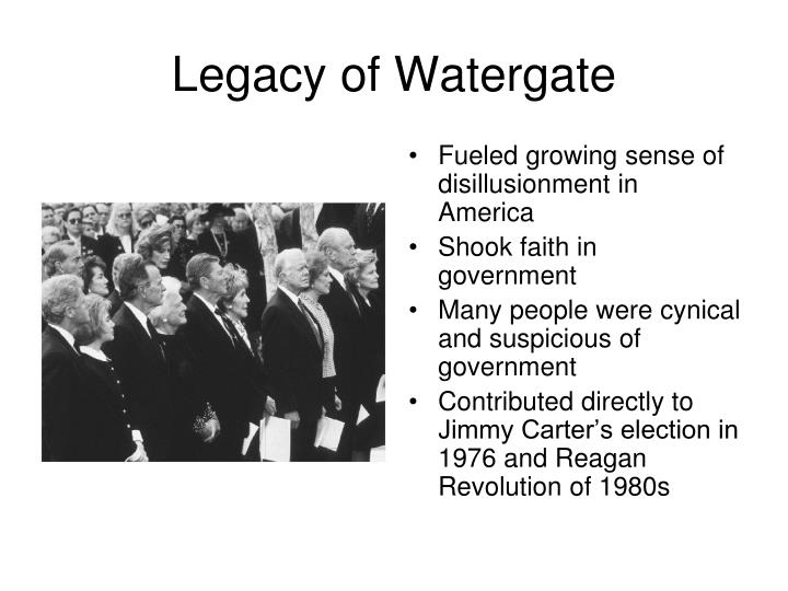 Legacy of Watergate