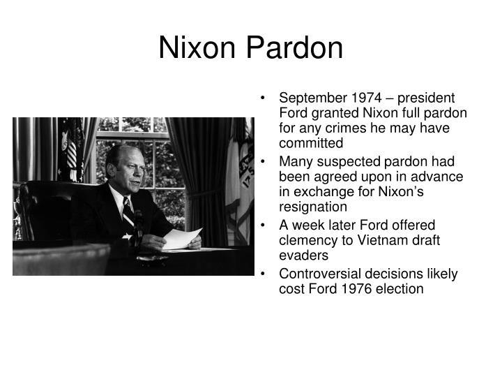 Nixon Pardon