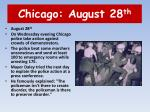 chicago august 28 th