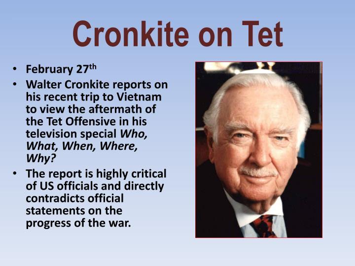 Cronkite on