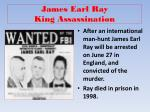 james earl ray king assassination