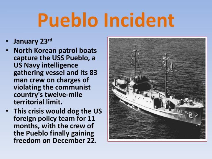 Pueblo Incident