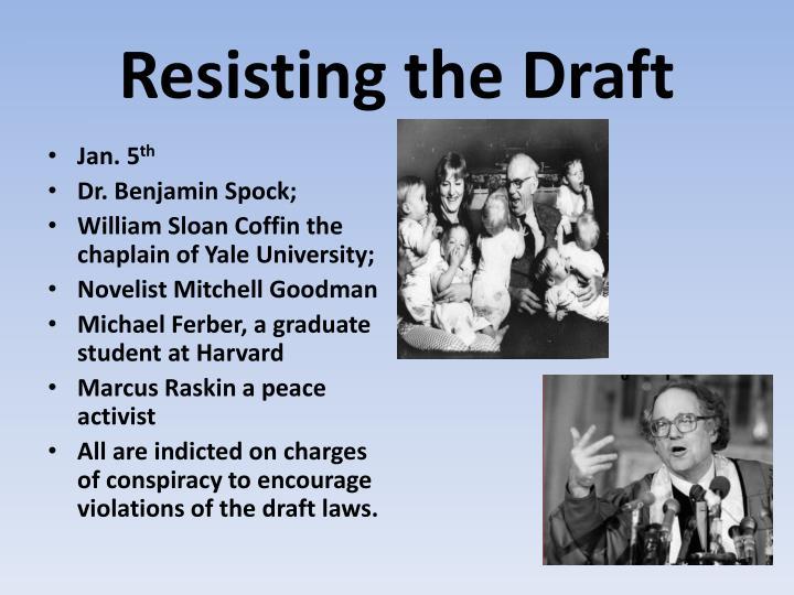 Resisting the Draft