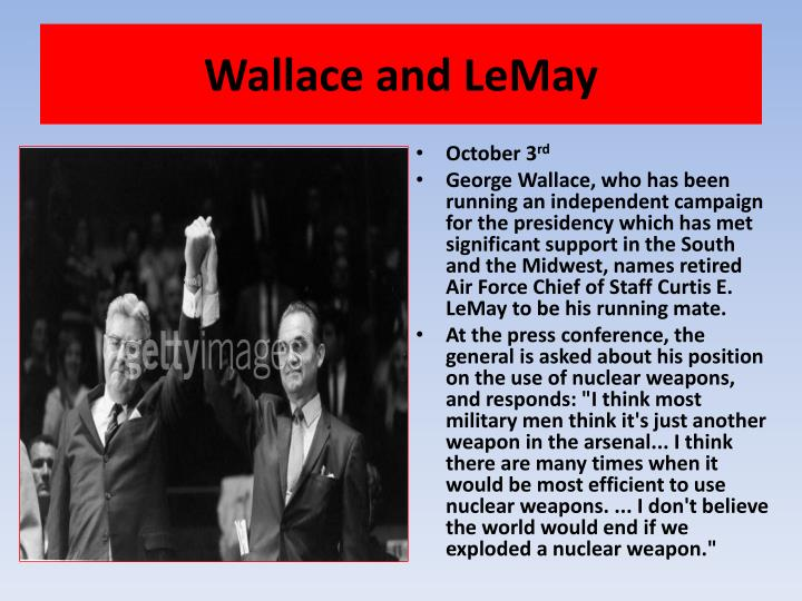 Wallace and LeMay