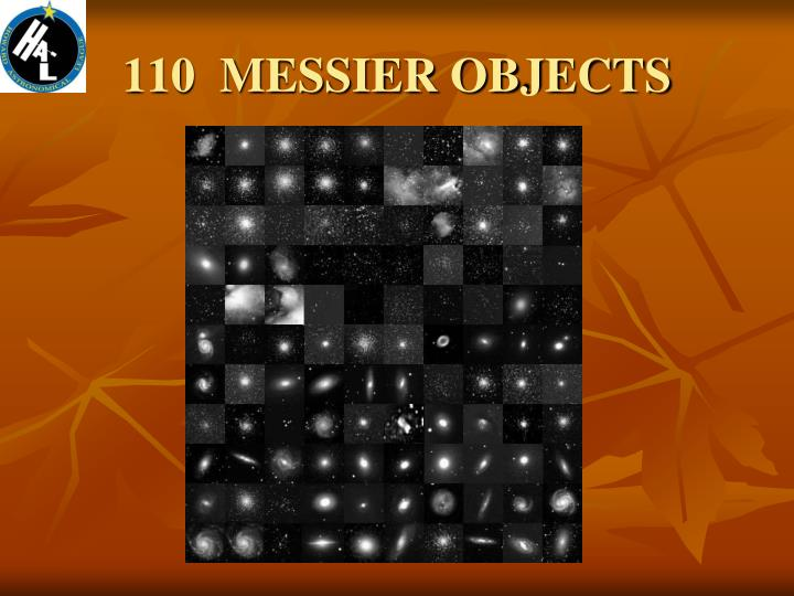 110  MESSIER OBJECTS