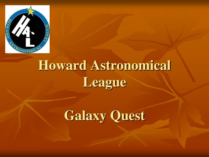 Howard Astronomical