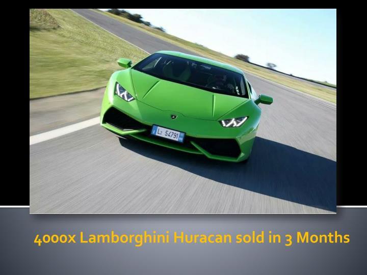 4000x Lamborghini