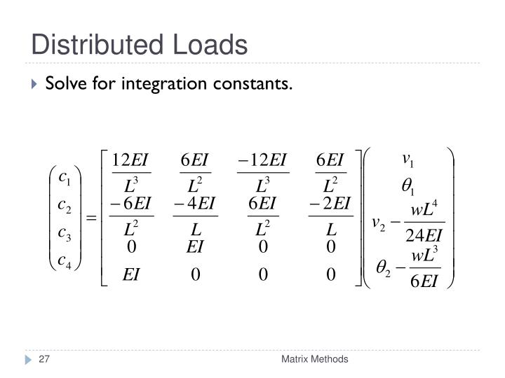 Distributed Loads