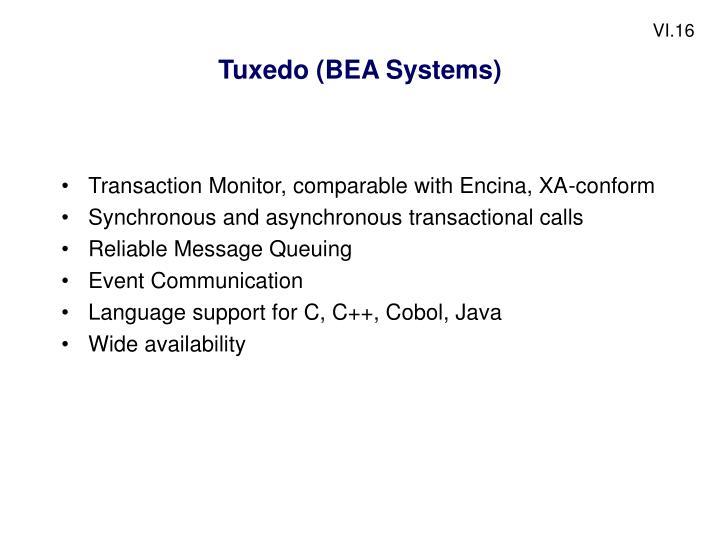 Tuxedo (BEA Systems)