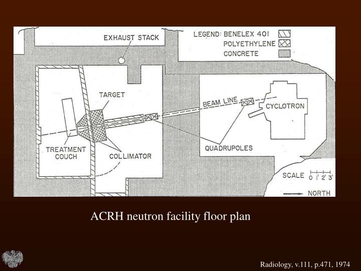 ACRH neutron facility floor plan
