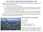 example beechcraft queen air